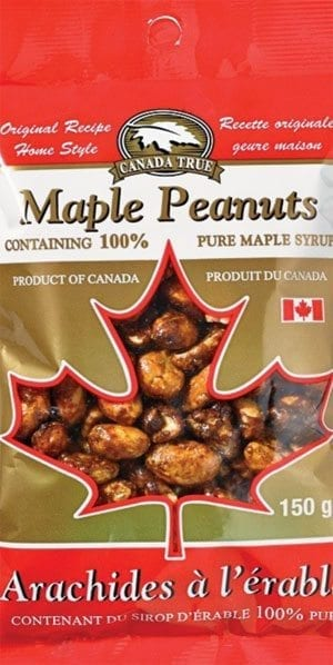 Canada True Maple Peanuts 150g