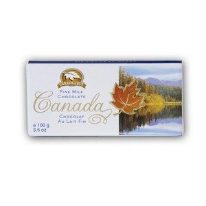 Canada True Scenic Milk Chocolate Bar 100g