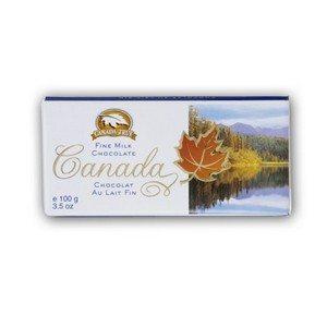 Canada True Scenic Milk Chocolate Bar 100g