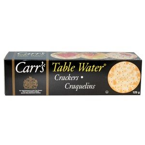 Carr's Crackers - Table Water Black 125g-4.25oz