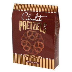 Chocolate Pretzels - Brown 85g-3 oz