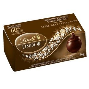 Lindt Lindor Chocolate Truffles Cocoa Brown 36g-1.27oz