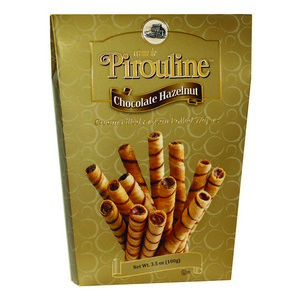 Pirouline Wafers Large Box Gold 100g-3.5 oz