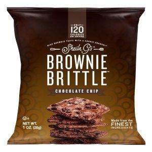 Sheila G's Chocolate Chip Brownie Brittle 28g-1 oz