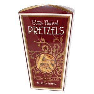 Snacktales Butter Pretzels Burgundy 3.5 oz-100g
