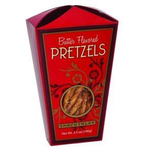 Snacktales Butter Pretzels Red 100g-3.5oz