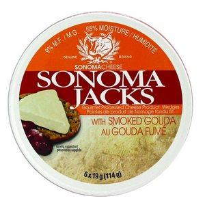 Sonoma Jacks Smoked Gouda Cheese 114g-4.02oz