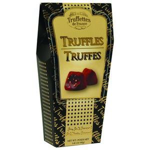 Truffettes De France Sea Salt Caramel Truffles Black 40g-1.41 oz