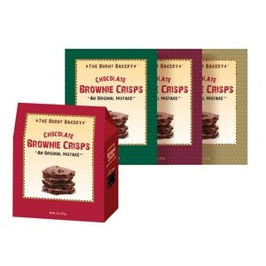 Vision Pack The Burnt Bakery Chocolate Brownie Crisps 57g -2oz-1 piece