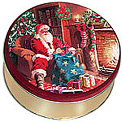 Santa By The Fire-30 Cookies