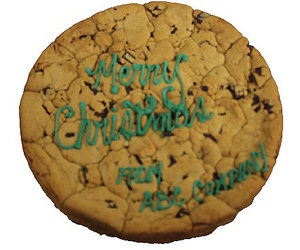 Merry Christmas Customized Cookie