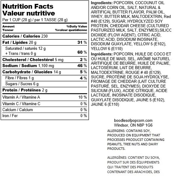 bacon-and-cheese-nutritional