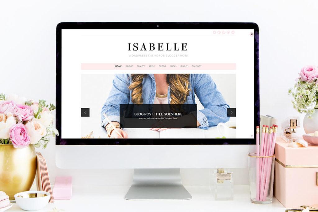 isabelle theme BluChic