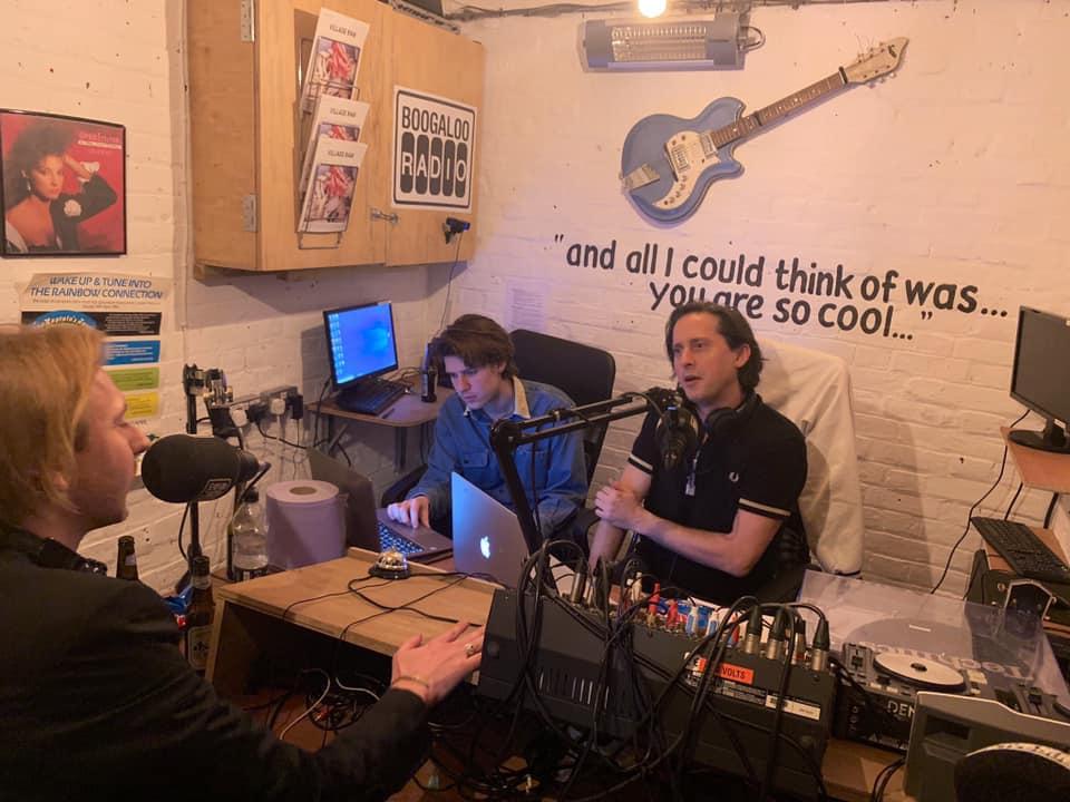 Carl Barat on Boogaloo Radio