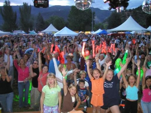 Boogie Machine, Strawberry Days, Glenwood Springs, CO