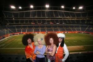 Boogie Machine at Mile High Stadium in Denver, CO