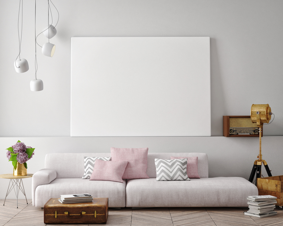 How to make art work in your home