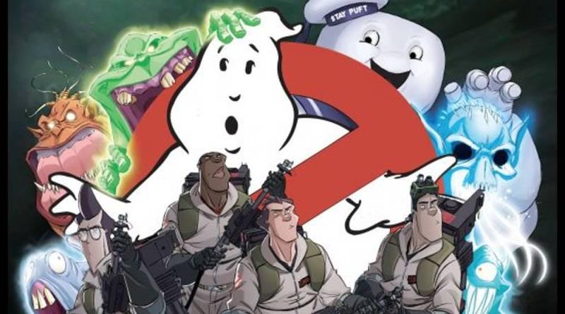 Couverture de la boîte du jeu de plateau Ghostbusters : The Boardgame
