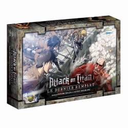 Boîte de jeu Attack on Titan - le dernier rempart