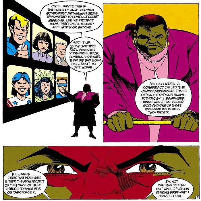 Extrait de Les Archives de la Suicide Squad tome 2