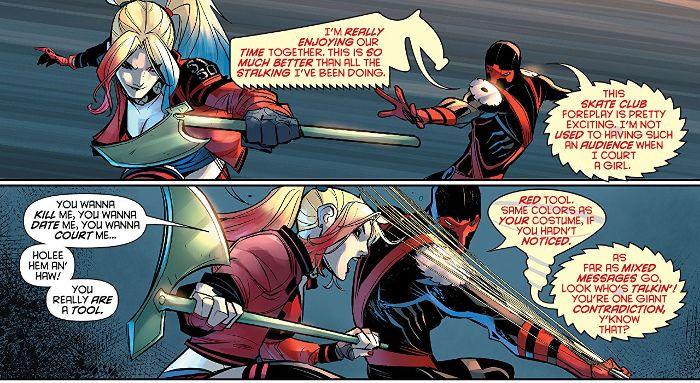 Extrait de Harley Quinn tome 6