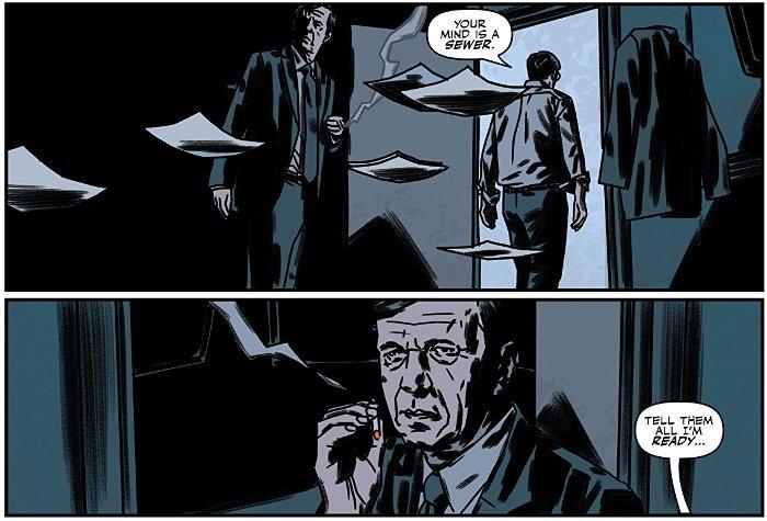 Extrait de The X-Files, les nouvelles affaires non-classée, tome 5