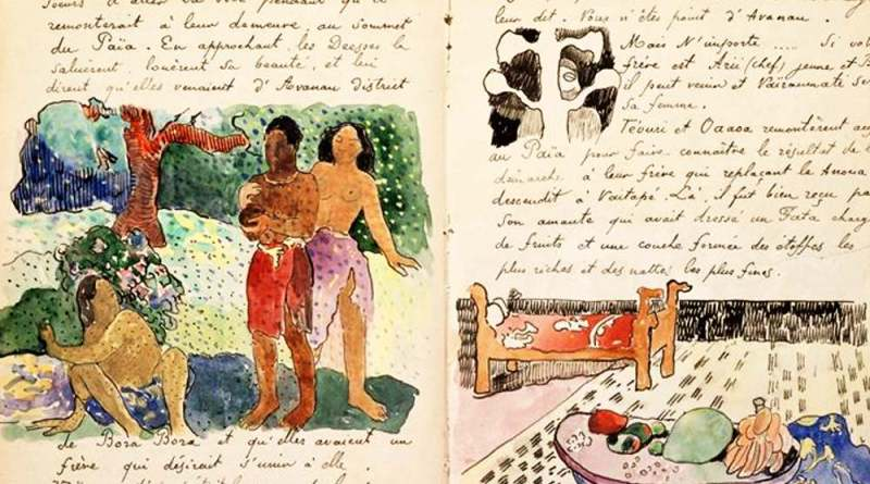 Gauguin Ancien Culte mahorie