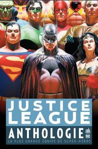 Couverture du comics Justice League Anthologie