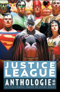 Couverture du comics Justice League Anthologie