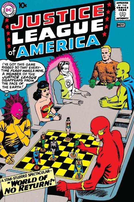10 meilleures couvertures de la Justice League