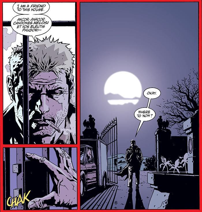 Extrait du comics Mike Carey présente Hellblazer, tome 1