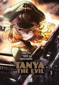 Couverture du manga Tanya The Evil, volume 1
