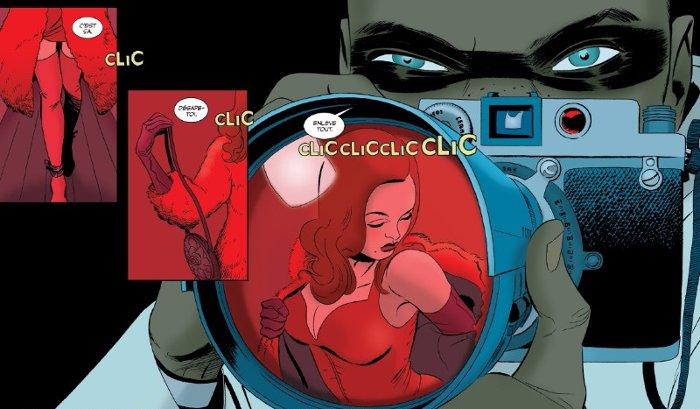 Extrait du comics The Private Eye