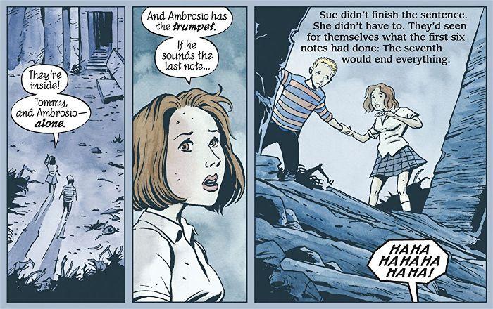 Extrait du comics The Unwritten tome 1