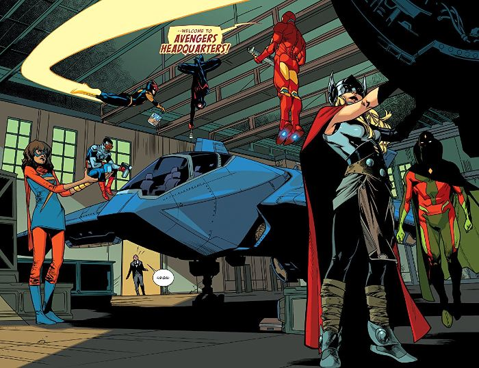 Extrait du du comics All-New Avengers tome 1