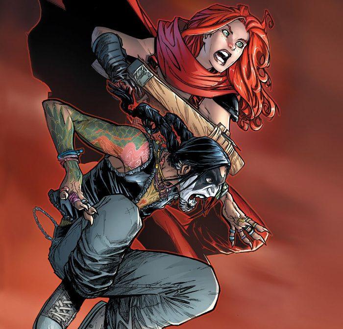 Extrait du comics Crimson - Omnibus