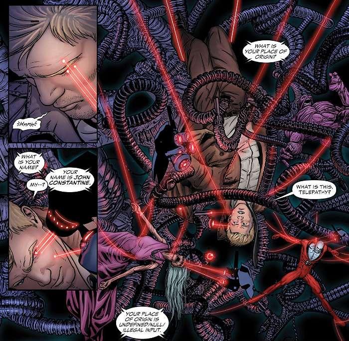 Extrait du comics Justice League Dark
