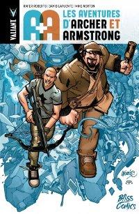 Couverture du comics « A&A : Les Aventures de Archer et Armstrong »