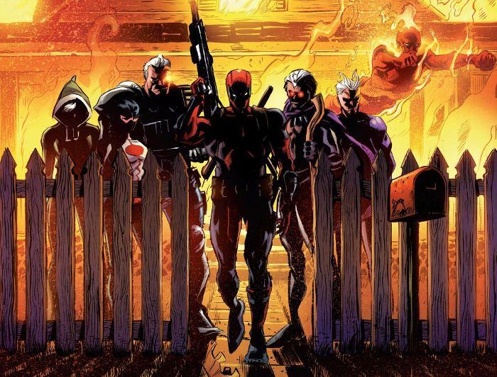 Extrait du comics Avengers : L'affrontement, tome 1