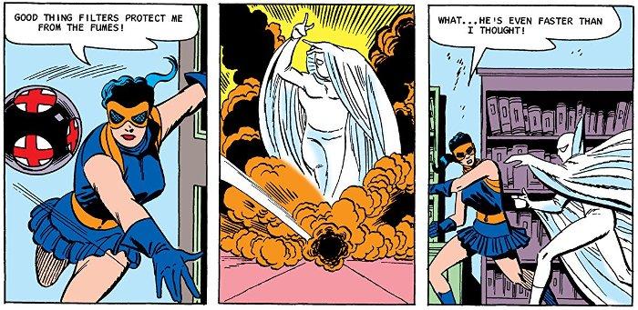 Extrait du comics Les Gardiens de Terre-4