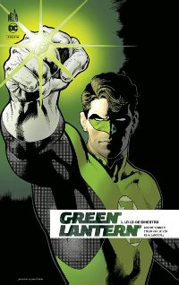 Couverture du comics Green Lantern Rebirth tome 1