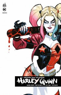 Couverture du comics Harley Quinn Rebirth tome 1