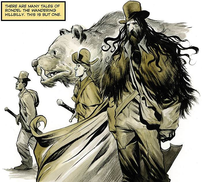 Extrait du comics Hillbilly tome 1