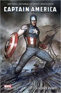 couverture du comics Captain America La Légende vivante