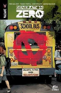 couverture du comics Génération Zéro