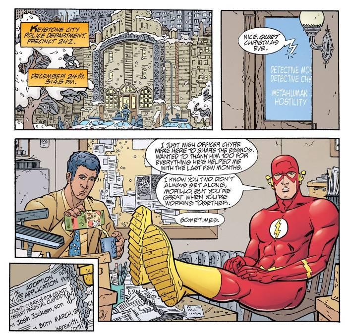 Extrait de de Geoff Johns présente Flash, tome 2
