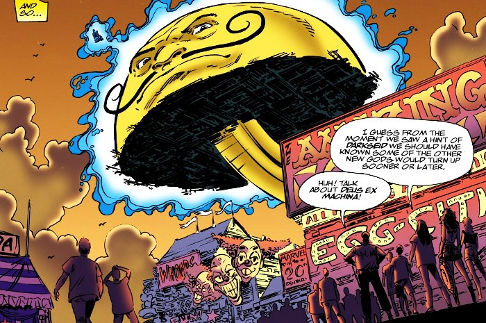 personnages de comics en forme d'oeuf Egg-Fu John Byrne