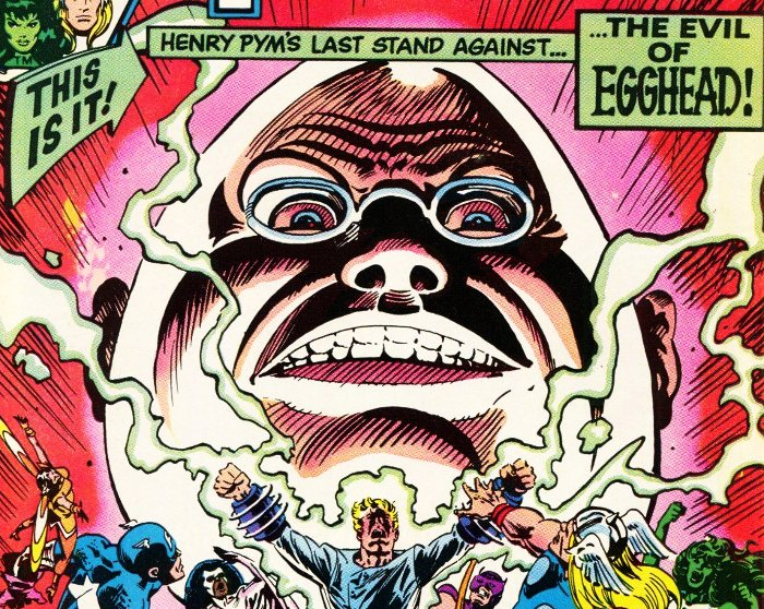personnages de comics en forme d'oeuf Crâne d'oeuf