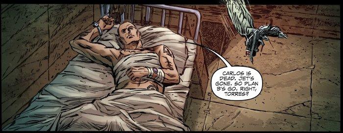 du comics Archangel de William Gibson