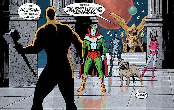Extrait du comics Black Hammer tome 2